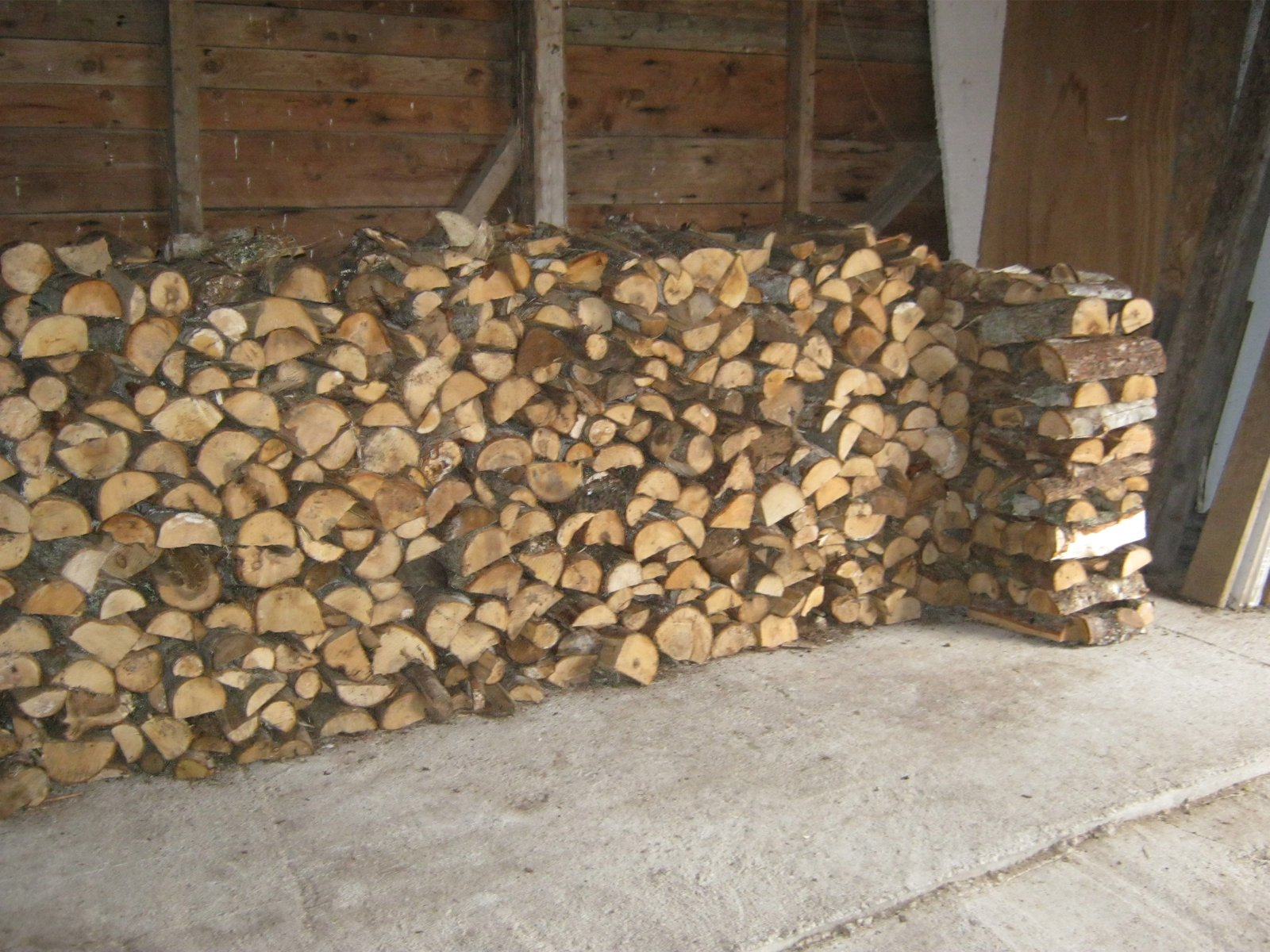Tidy Wood Stack 4