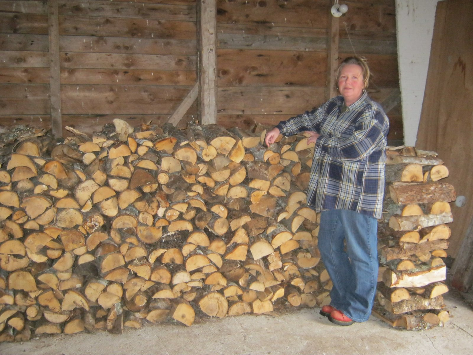 Tidy Wood Stack 5