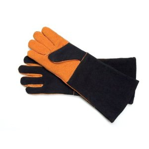 Steven Raichlen SR8038 Extra Long Suede Gloves, Pair